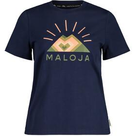 Maloja GoldnesselM. SS T-shirt Damer, blå